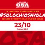 #solochiosavola: progetti e squadre 2021/2022